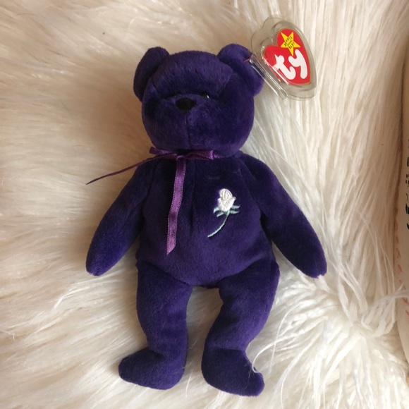 Ty Other Princess Diana Beanie Baby With Pvc Pellets Poshmark